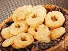 Рецепта Лесни соленки със сирене крема и сусам